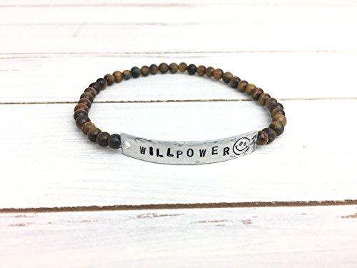Tigers Eye Willpower Stretchy Bracelet