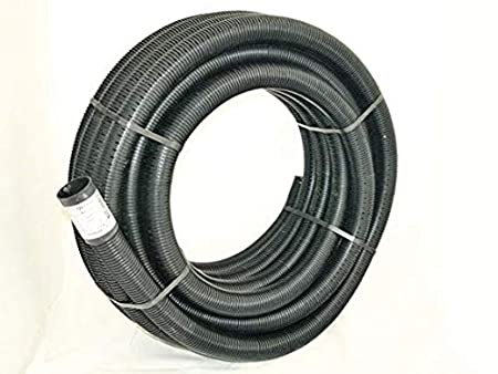 Perforated Pipe Coil 60mm X 50 metre For Tree Planting Land Drainage