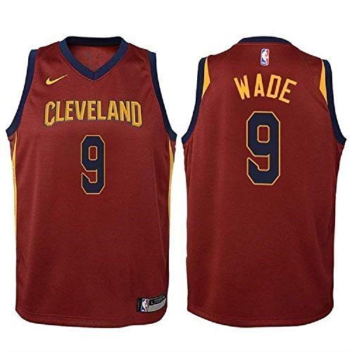 Used, Nike Dwyane Wade Cleveland Cavaliers NBA Youth Burgundy for sale  Delivered anywhere in USA