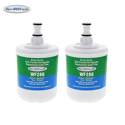 Aqua Fresh WF286 Replacement for Whirlpool 8171414 and 8171413 (Pack of 2)