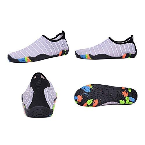 Dry Sports BlanKey Flexible Quick Swim Kids Barefoot Shoes Men Shoes Grey Beach Women Water Flats nAr5qw5xI