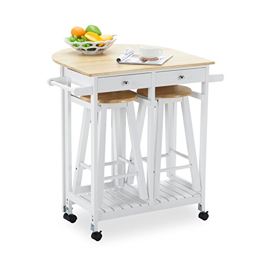 Top 10 Best Kitchen Carts With Stools Best Of 2018