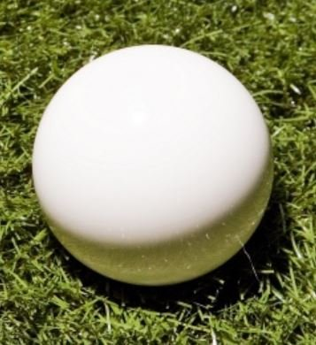 White 57mm Bocce Pallino by EPCO by Epco