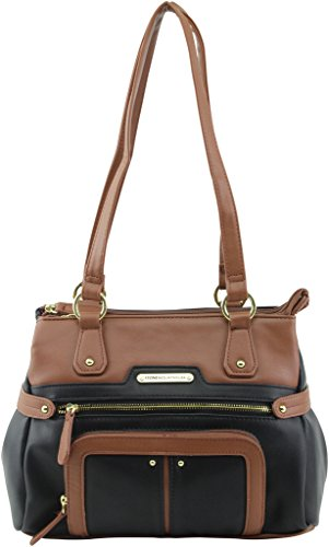 stone-mountain-plugged-in-nappa-talia-satchel-black-tan
