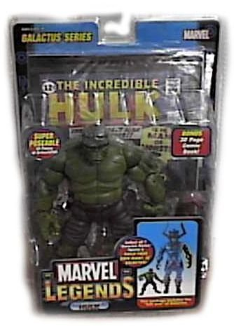 Marvel Legends Hulk Galactus Series 8 Inch Action Figure With Left Arm of Galactus
