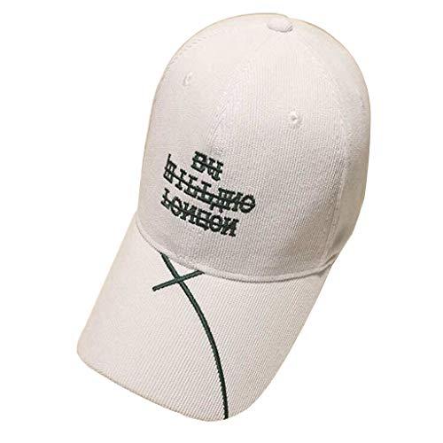 Baseball Cap Streamer Design Letter Embroidery Warm Outdoor Activity Cap Hip Hop Hat Country Hat Sports Cap Corduroy Cap Black White