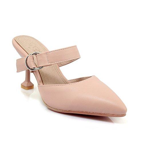 Amende Flip Femmes Sandales Flop Fait Talon Haut Pink avec ISwP0q