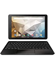 """RCA Newest Best Performance Tablet Quad-Core 2GB RAM 32GB Storage IPS HD Touchscreen WiFi Bluetooth with Detachable Keyboard Android 9 Pie (10"""", Charcoal)"""