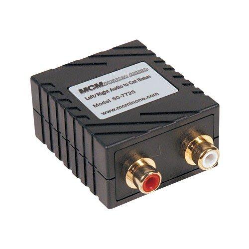 Baluns Transformer, Audio, Cable, 10 Hz, 50 kHz, 600ohm, 1 dB (Balun Audio)