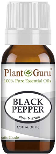Black Pepper Essential Oil 10 ml Piper Nigrum 100% Pure Undiluted Therapeutic Grade. ()