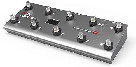 meloaudio MIDI Commander para Guitarra, Pedal Controlador MIDI USB Portátil Multiefectos con interruptores de pie
