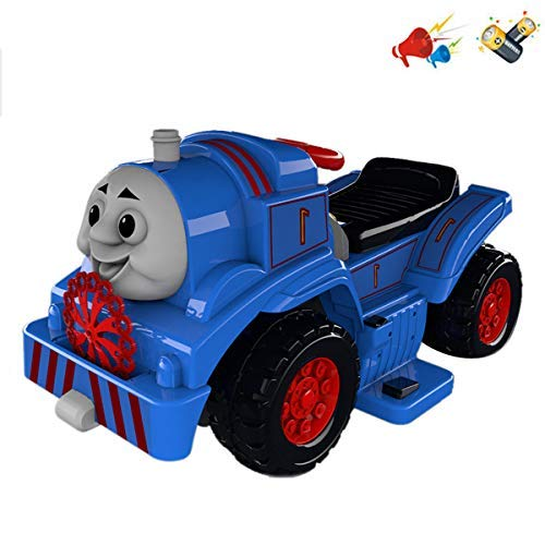 - Sky Toys Electric Children Train Engine Ride-On Car with Charger, Battery, Thomas Sound