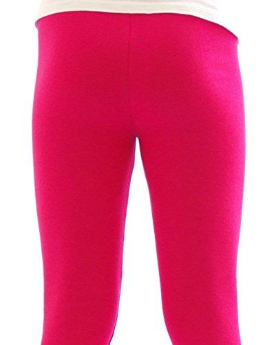 Legging Thermique Leggings Pantalon long en coton Polaire chaud épais doux - rose, 38