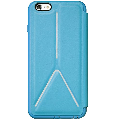 SwitchEasy AP-15-121-13 Rave Folio Custodia per iPhone 6 Plus, Blu