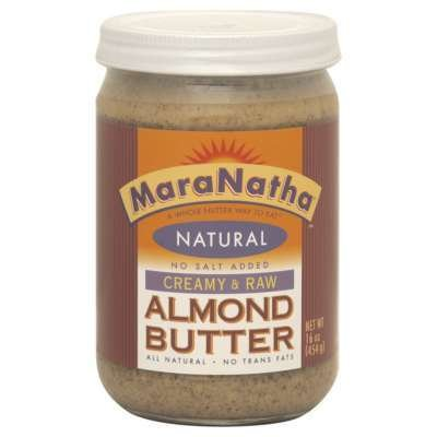 Maranatha Raw Almond Butter No Salt 16 Oz (Pack of 3) - Pack Of 3