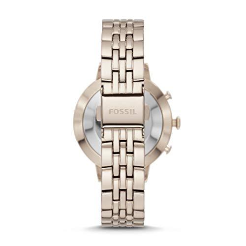 Fossil Jacqueline Hybrid FTW5036 - Reloj Inteligente para Mujer (Acero Inoxidable), Color Rosa Pastel: Amazon.es: Relojes