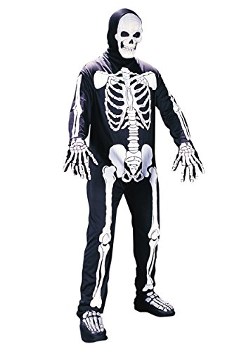 Fun World Plus Size Scary Skeleton Costume - 2X ()