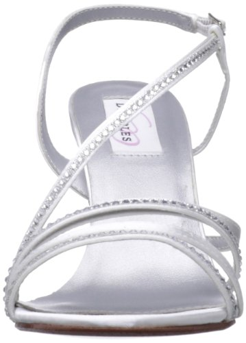 Satin Dyeables Women's Sandal JO Leather White wXqvrfqdx