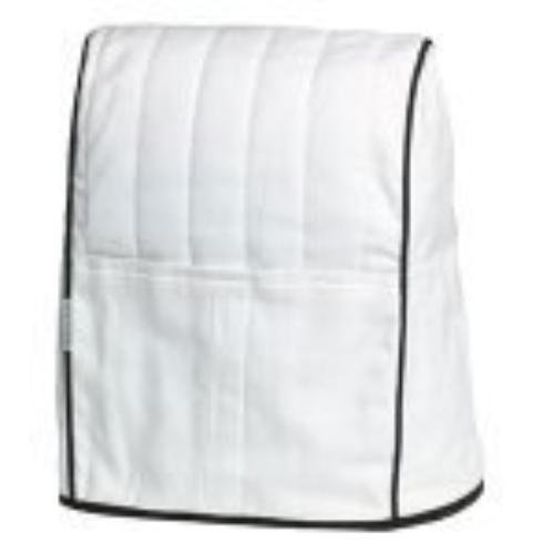 White Mixer Cloth Cover Bag Dust Scratches Protection for KitchenAid Stand KMCC1WH Tilt Head 16''