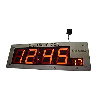 Amazon com: Instrukart Digital GPS Clock: Electronics