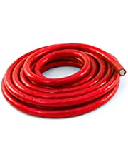 KnuKonceptz Bassik 0 Gauge Power/Ground Wire Cable Red 25 Foot Coil