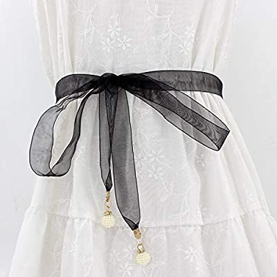 GNCBE Female Snow Spinning Cloth Pearl Pendant Waist Chain Fashion ...