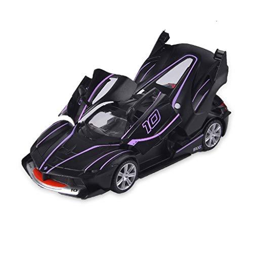 GAOQUN-TOY 1:32 Aston Martin GT3 Alloy Car Model Tail Sports Car Rafa Pull Back Sound and Light Toys (Color : Black)