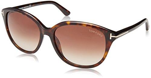 Tom Ford Women's Karmen TF329 Sunglasses, Brown - Brown Karmen