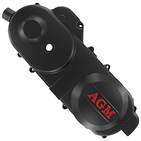 Xfight-Parts Gehaeusedeckel li Schwarz 400mm 10Zoll 4Takt 50ccm 139QMA/QMB Shenke (REX) RS 460 Ver.A