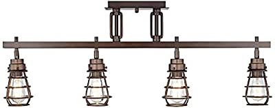 Pro Track Bendlin Industrial 4-Light Bronze Track Fixture