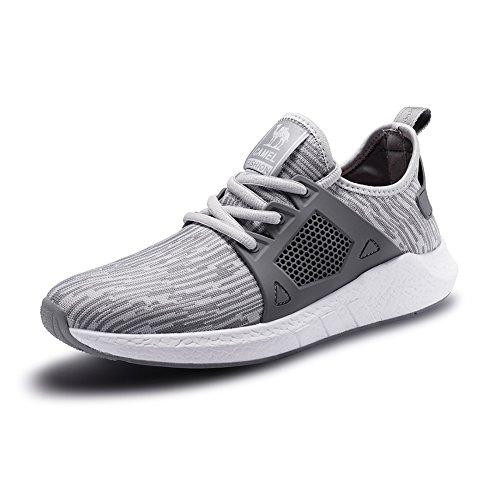 کفش ورزشی مردانه CAMEL کفش در حال اجرا کفش سبک وزن و در معرض شوک قرار دادن کفش ورزشی گاه به گاه کفش ورزشی پیاده روی کفش ورزشی سیاه و سفید در فضای باز اندازه 10.5