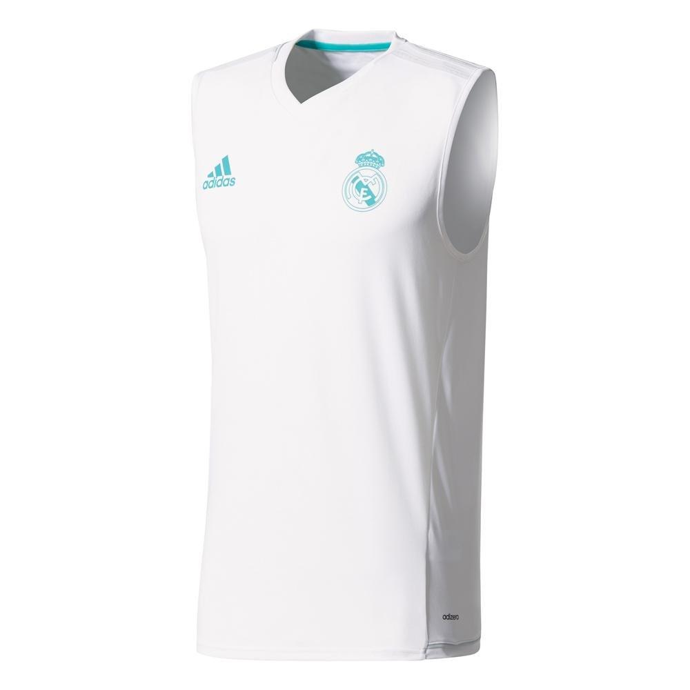 adidas Sll Jsy Camiseta de Equipación Real Madrid Temporada 2017 ...