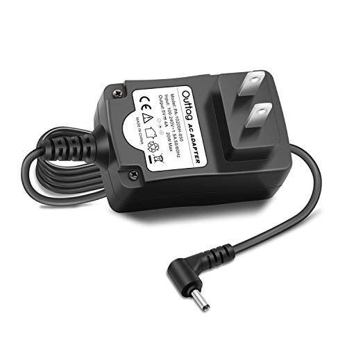 Outtag 5V 20W Laptop Wall Charger Replacement for Lenovo Ideapad 100S 100S-11IBY 80R2,100S 11.6 Intel Atom Z3735F;ADS-25SGP-06 05020E GX20K74302 Miix 310-10ICR 80SG001FUS Power AC Adapter Cord