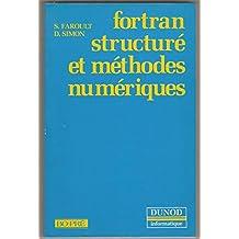 Fortran structuré et méthodes numériques