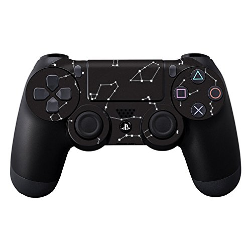 MightySkins Skin For Sony PlayStation DualShock PS4 Controller – Constellations Protective, Durable, and Unique Vinyl Decal wrap cover | Easy To Apply, Remove, and Change Styles | Made in the USA