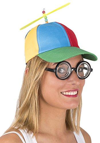 P tit Clown Casquette avec hélice Adulte, Unisex, 41947, Taille ... 3531130f4fb9