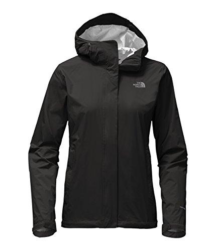 The North Face Womens Venture 2 Jacket TNF Black - - Ripstop Nylon Shell
