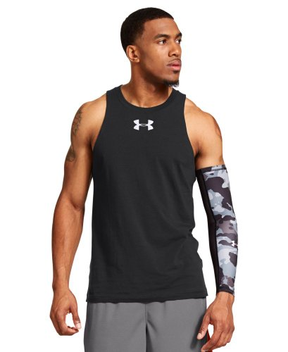 Under Armour Men's Charged Cotton Jus Sayin Tank