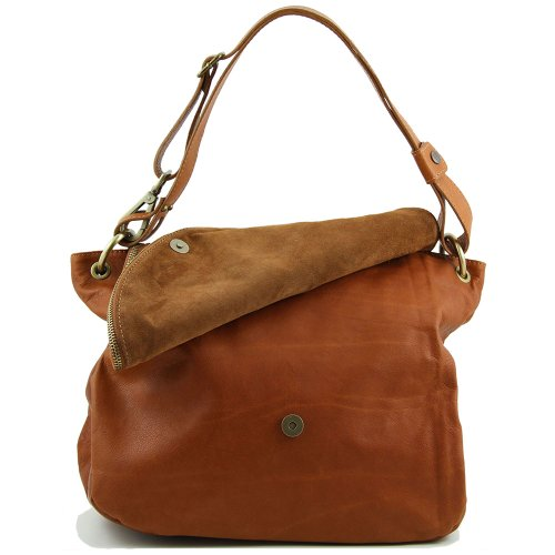 Marrone Leather spalla Borsa marrone a donna Tuscany Borsa a Tuscany Leather qUSzwqI