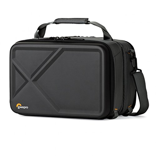 Lowepro Quad Guard Kit Flexible Dual-Carrying Case for FPV 250 Class Quad Racing Drone, Black/Grey