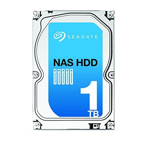 Seagate NAS HDD 1TB SATA 6Gb/s NCQ 64 MB Cache Bare Drive (ST1000VN000)