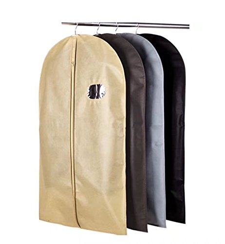 "YAAGLE Garment Cover Breathable Dust Bag 39.4"",50.4"",59""Storage Suits Coats Dresses"