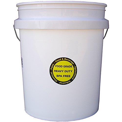 5-Gallon Commercial Food Grade Bucket
