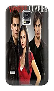 2075 New Style fashionable The Vampire Diaries Designed for Sumsang galaxy s5 Hard Case Cover