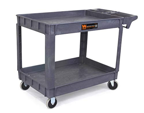 WEN 73004 500-Pound Capacity 36 by 24-Inch Extra Large Service Utility Cart from WEN