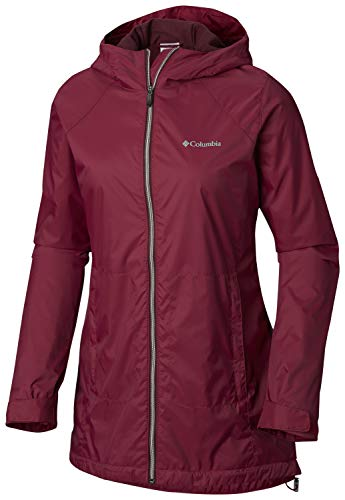 Columbia Women's Switchback Lined Long Jacket, Wine Berry, X-Small