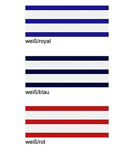 Gr/ö/ße:4 AS Bekleidungswerk GmbH Modas bretonische Rollm/ütze Farbe:Wei/ß//Blau