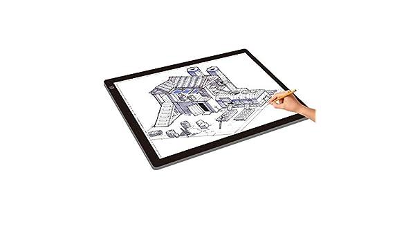 JSANSUI Tableta de Escritura led A2 Tamaño de Escritura del LED de ...