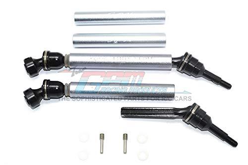 Rear Gpm Revo - Traxxas Revo / Summit / E-Revo Upgrade Parts Steel+Aluminum Front/Rear Universal Swing Shaft Washers & Wheel Hubs - 1Pr Set Gray Silver