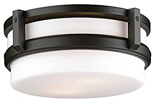 Philips Forecast F611033 27th Street Ceiling Light, Wrought Iron